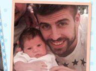 Shakira maman de Sasha : L'adorable bébé pose avec son papa Gerard Piqué