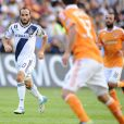 Landon Donovan lors d'un match au Home Depot Center de Los Angeles entre le LA Galaxy et le Dynamo de Houston