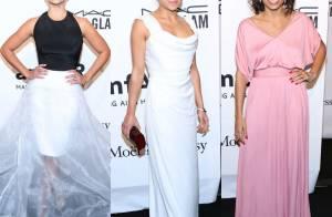 Camila Alves, Michelle Rodriguez, Rosario Dawson : Trio de charme à l'amfAR