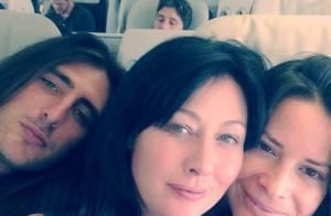 Charmed : Shannen Doherty et Holly Marie Combs, inséparables, arrivent à Paris !