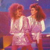 Kylie Minogue et sa soeur Dannii, version 80's : ''Mon dieu, ces cheveux !''