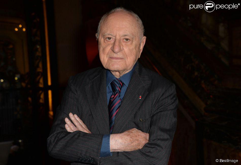 Pierre Bergé à Paris, le 26 septembre 2014.