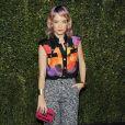 Lily Allen  lors du dîner organisé par Chanel et Charles Finch avant les Oscars au restaurant Madeo, à Beverly Hills le 21 février 2015