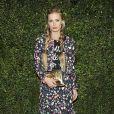 Laura Bailey lors du dîner organisé par Chanel et Charles Finch avant les Oscars au restaurant Madeo, à Beverly Hills le 21 février 2015