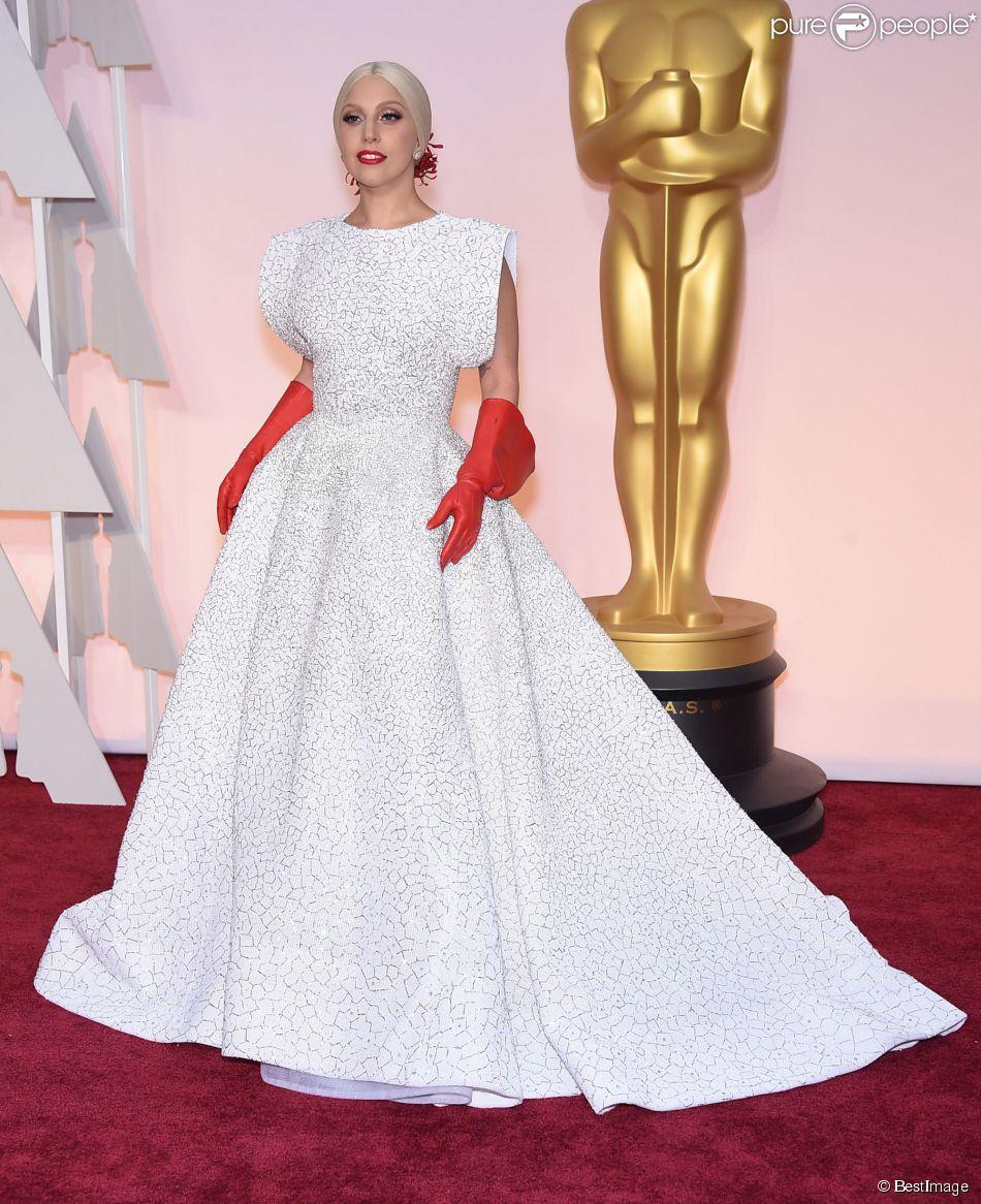 Lady Gaga à la 87ème cérémonie des Oscars à Hollywood le 22 février 2015 23 February 2015.