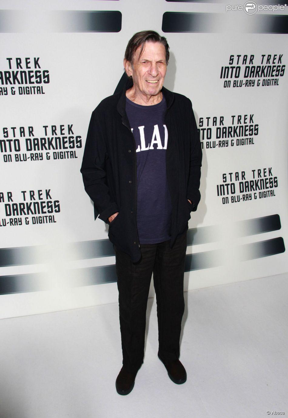 Leonard Nimoy le 10 septembre 2013 à Los Angeles