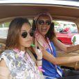 Exclusif - Vanessa Lawrens lors du 15e Rallye des Princesses sur le circuit du Castellet le 4 juin 2014.