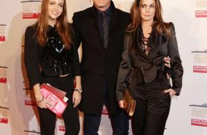 David Ginola en famille et Lindsay Lohan à la fête foraine de Natalia Vodianova