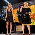 Miranda Lambert, Reba McEntire, Kix Brooks, et Kelly Clarkson lors des American Country Countdown Awards à Nashville le 15 décembre 2014