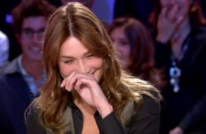 VIDEO + REPORTAGE PHOTOS : Carla Bruni s'est grave éclatée au Grand Journal ! (réactualisé)
