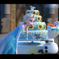 Bande-annonce du court métrage Une fête givrée, suite de La Reine des neiges