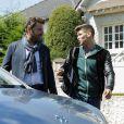 Philippe Lellouche et Rayane Bensetti dans la série Clem, saison 5, sur TF1 ce lundi 2 ùars 2015