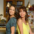 Lucie Lucas et Victoria Abril dans la série Clem, saison 5, sur TF1 ce lundi 2 ùars 2015