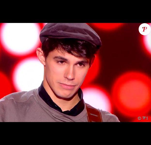 Le charmant Lilian dans The Voice 4, sur TF1, le samedi 10 janvier 2015