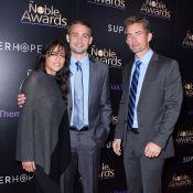 Michelle Rodriguez avec les frères de Paul Walker, juste avant la polémique