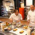 Vanessa et Philippe Etchebest dans  Top Chef 2015 , le lundi 2 mars 2015 sur M6.