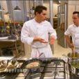 Xavier et Christophe dans  Top Chef 2015 , le lundi 2 mars 2015 sur M6.