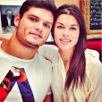 """""""Fanny Skalli et Florent Manaudou à l'occasion de l'anniversaire de la jeune femme, photo issue de son compte Instagram et publiée en juin 2014"""""""