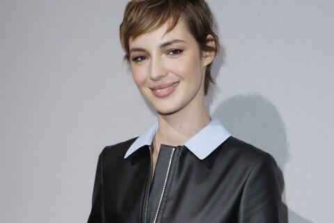 Défilé Dior : Louise Bourgoin, cheveux courts, au côté de Laetitia Casta
