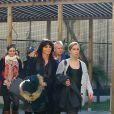 Exclusif - Les proches de Pascal Brunner assistent à la cérémonie religieuse en son honneur qui s'est tenue à l'Athanée de Nice, le 7 mars 2015.