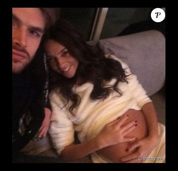 Terri Seymour a ajouté une photo à son compte Instagram alors qu'elle était enceinte, le 1er janvier 2015