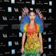 "FKA twigs au Gala ""Alexander McQueen : Savage Beauty"" au Victoria and Albert Museum à Londres, le 12 mars 2015. 12 March 2015."