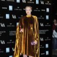 "Gwendoline Christie - Gala ""Alexander McQueen : Savage Beauty"" au Victoria and Albert Museum à Londres, le 12 mars 2015. 12 March 2015"