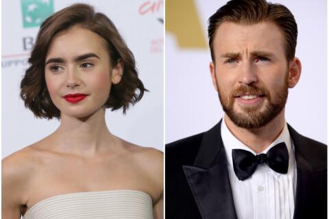 Lily Collins et Chris Evans : Nouveau couple à Hollywood ?
