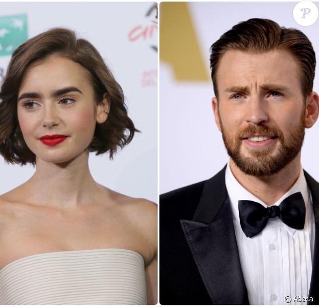 Lily Collins et Chris Evans, le nouveau it-couple de Hollywood ?