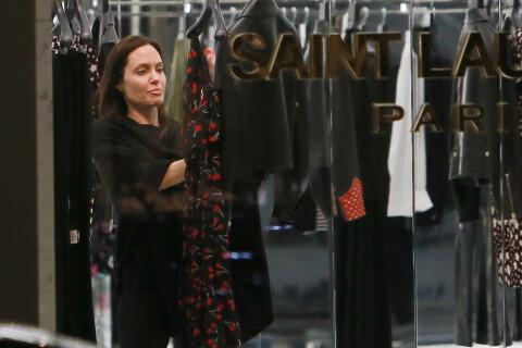 Angelina Jolie : Au naturel pour une séance shopping très privée...