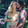 Leah et Brandon Jenner attendent leur premier enfant. La future maman a annoncé l'heureuse nouvelle sur Instagram, ce dimanche 15 mars 2015.