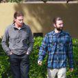 Bruce et Brandon Jenner à Los Angeles, le 23 mars 2014.