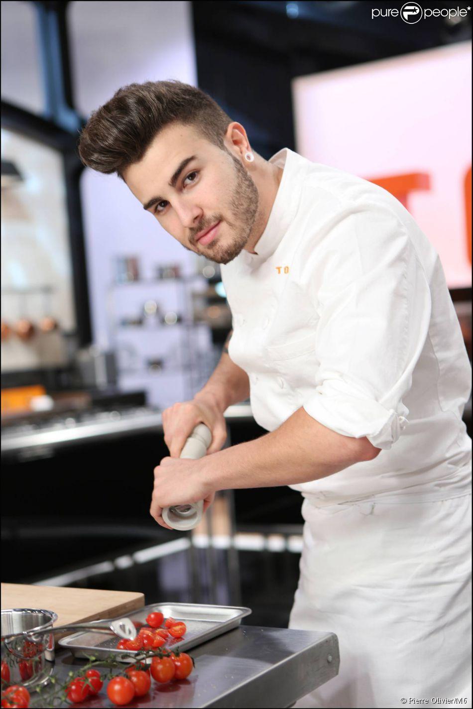 Kevin d'Andrea, candidat à  Top Chef 2015 .