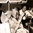 Exclusif - Photo issue de la collection privée de Gérard Montel (1980), grand ami de Brigitte Bardot. Il est décédé le 11 mars 2015.