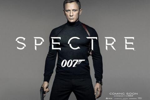 James Bond 24 - Spectre : Daniel Craig s'affiche séduisant... en col roulé