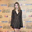 """Hannah Murray à l'avant-première mondiale de la saison 5 de """"Game of Thrones"""" organisée à Londres, le 18 mars 2015."""