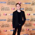 """Dean-Charles Chapman à l'avant-première mondiale de la saison 5 de """"Game of Thrones"""" organisée à Londres, le 18 mars 2015."""