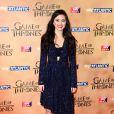 """Jessica Henwick à l'avant-première mondiale de la saison 5 de """"Game of Thrones"""" organisée à Londres, le 18 mars 2015."""