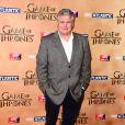 """Conleth Hill à l'avant-première mondiale de la saison 5 de """"Game of Thrones"""" organisée à Londres, le 18 mars 2015."""