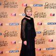 """Tara Fitzgerald à l'avant-première mondiale de la saison 5 de """"Game of Thrones"""" organisée à Londres, le 18 mars 2015."""