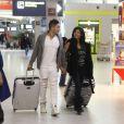La cougar Nathalie et Vivian - Départs des  Anges 7  pour le Brésil le samedi 10 et le dimanche 11 janvier 2015.