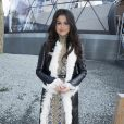 Selena Gomez au défilé Louis Vuitton prêt-à-porter collection Automne-Hiver 2015-2016 à Paris, le 11 mars 2015.