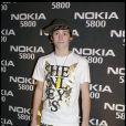 Lil' Chris alias Chris Hardman à la soirée Nokia 5800 au Punk à Londres, le 27 janvier 2009