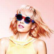 Lily Allen : Sa nouvelle tête blonde et pop pour des lunettes acidulées