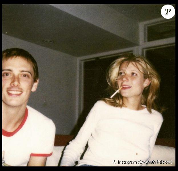 Gwyneth Paltrow a posté le 20 mars une photo d'elle à 19 ans en compagnie de son ex Donovan Leitch Jr.