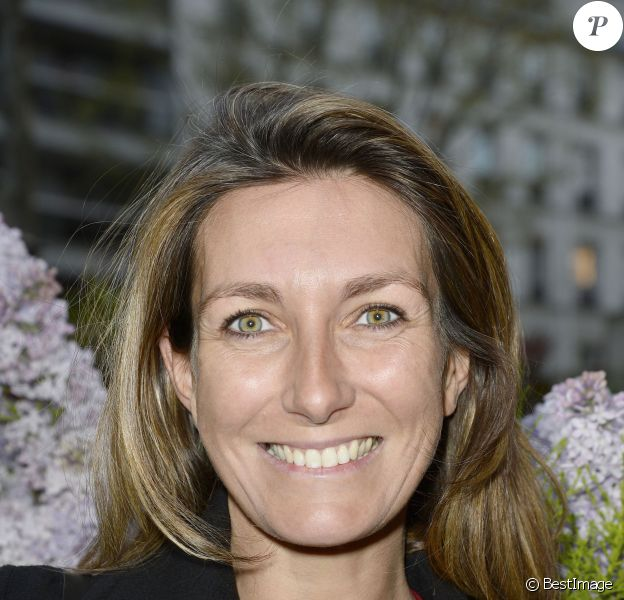 Anne-Claire Coudray au Prix de la Closerie des Lilas, à Paris, le 8 avril 2014.
