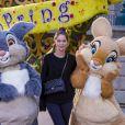 Marie-Ange Casta célèbre le printemps à Disneyland Paris. Mars 2015