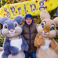 Frédéric Michalak célèbre le printemps à Disneyland Paris. Mars 2015