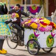 Cyril Hanouna célèbre le printemps à Disneyland Paris. Mars 2015