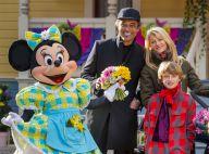 Yannick Noah en famille et les stars fêtent le printemps à Disneyland Paris